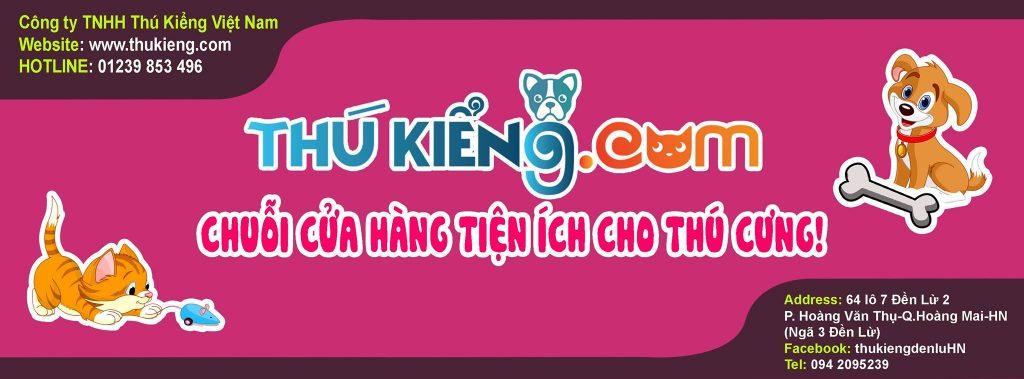 Cửa hàng phụ kiện và thức ăn thú cưng tại Đền Lừ - Hà Nội