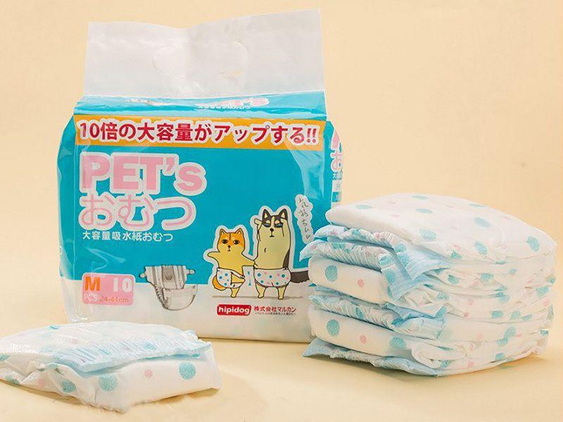 Giá bán băng vệ sinh cho chó. Cách sử dụng bỉm, băng vệ sinh cho chó