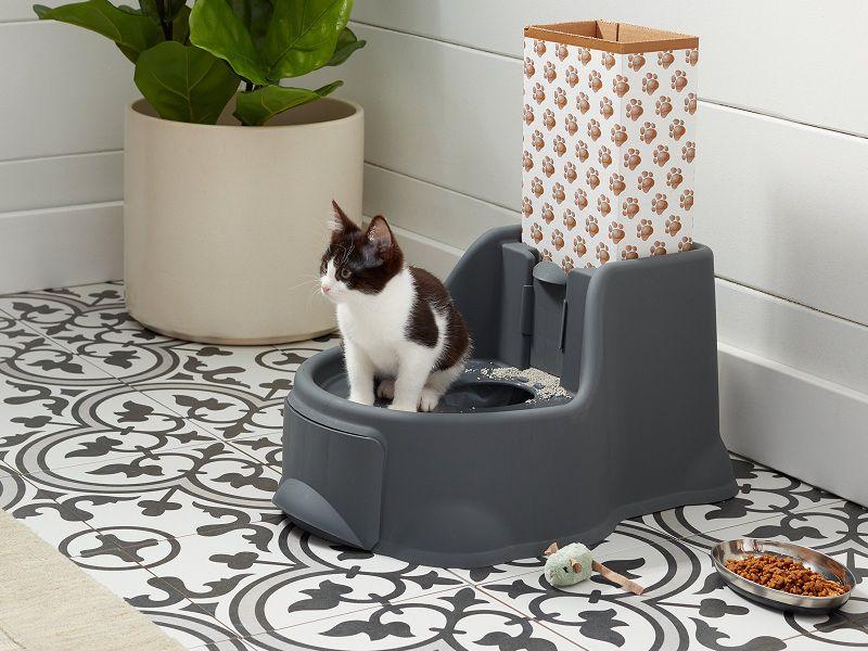 Giá bán nhà và khay vệ sinh cho mèo. Chọn mua nhà vệ sinh cho mèo