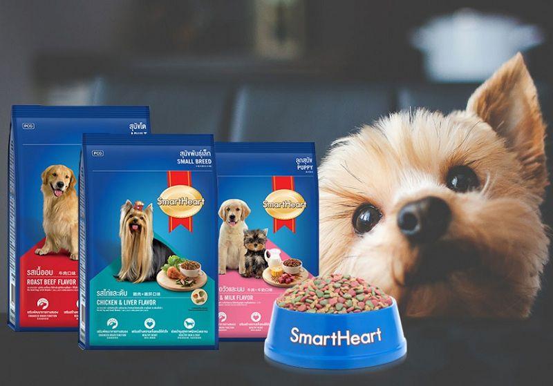 Giá bán thức ăn SmartHeart cho chó. Mua thức ăn SmartHeart ở đâu?