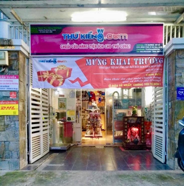 một cơ sở kinh doanh chó mèo cảnh ở Q6 – HCM