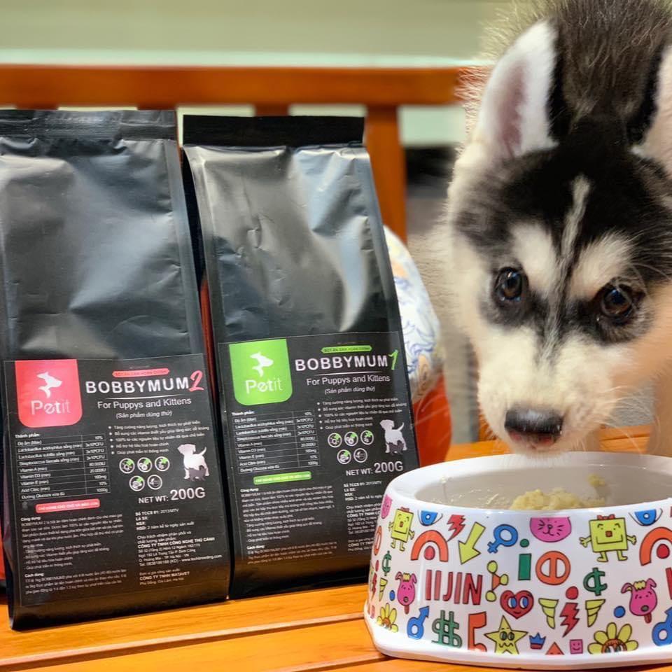 bột ăn dặm chó chó mèo bobbymum – một loại sản phẩm phổ biến