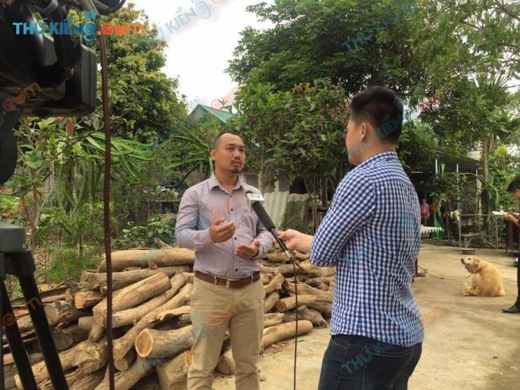 Đài truyền hình phú thọ phỏng vấn một mô hình trang trại trong dân thành công
